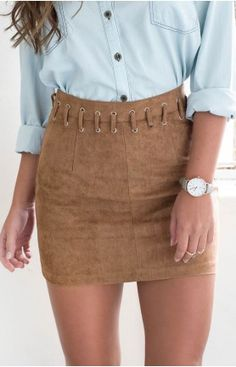 Mystic Skirt Tan