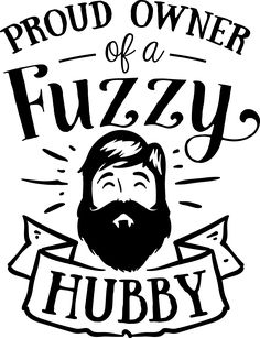 Fuzzy Beards My husband love the beard Window outdoor vinyl decal any color Car, Laptap - - Cricut Air, Cricut Vinyl, Vinyl Decals, Car Decals, Wall Stickers, Silhouette Cameo Projects, Silhouette Design, Silhouette School, Silhouette Files