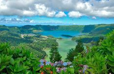 Lagoa das Sete Cidades, São Miguel, Azores, Portugal