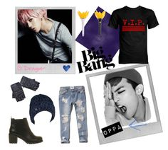 """G-Dragon concert"" by nataliadenjor ❤ liked on Polyvore featuring Polaroid, Office, Abercrombie & Fitch and Chanel"