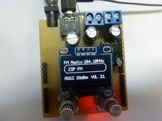 FM Radio Arduino Uno Schield : 6 Steps (with Pictures) - Instructables Arduino Radio, Arduino Board, Arduino Projects, Usb Flash Drive, Pictures, Diy, Photos, Bricolage