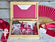 Cute idea! A bridesmaids box to say thank you to all the awesome girls who will be supporting!