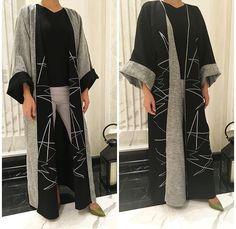 Reversible abaya! || IG: Blackout_Dubai || IG: BeautiifulinBalck