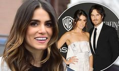 The 26-year-old has been dating Ian Somerhalder, 36, since July.