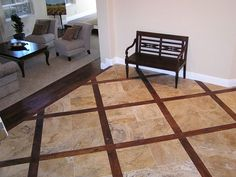 *Pics* Entry Way Tile Designs Needed - Tiling, ceramics, marble - DIY Chatroom - DIY Home Improvement Forum Floor Design, Tile Design, Modern Home Furniture, Room Interior Design, Model Homes, Home Improvement Projects, Hardwood Floors, New Homes, Tiling