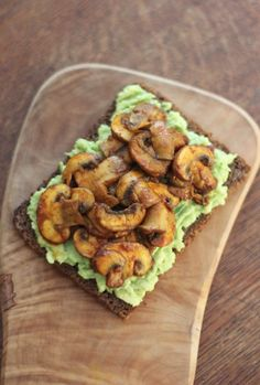 One of my favourite, simple recipes to make. Spicy Mushroom Avocado Toast! Full of flavour and so delicious. Vegan