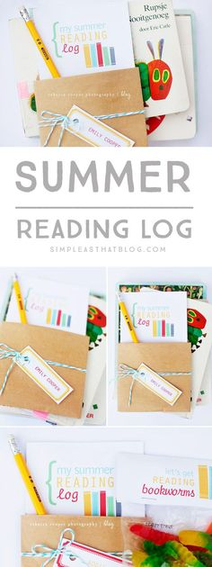 Encourage Summer reading and make it fun with these free printables!