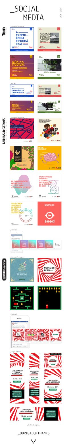 "Check out my @Behance project: ""Social Media - 2016/2017"" https://www.behance.net/gallery/52328535/Social-Media-20162017"