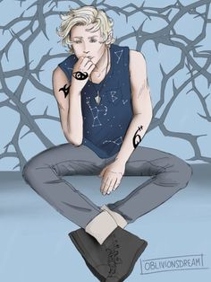 "oblivionsdream: ""An illustration of Mark Blackthorn. Next I'll either be doing Tiberius Blackthorn or Anna Lightwood. "" Ooh either Ty or Anna would be great. :D"