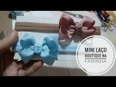 Mini Boutique com fita N° 5 - Aula 173 - YouTube