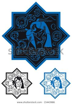 Find Traditional Seljuk Motif Kubadabad stock images in HD and millions of other royalty-free stock photos, illustrations and vectors in the Shutterstock collection. Turkish Tiles, Turkish Art, Motif Design, Bird Design, Ancient Near East, Ottoman, Iranian Art, Ceramic Birds, Traditional Paintings