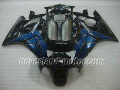 Carenado de ABS de Honda CBR600 F3 1995-1996 - Negro/Azul