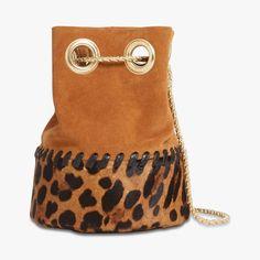 Sac seau motif léopard - DELPHINE DELAFON - Find this product on Bon Marché website - Le Bon Marché Rive Gauche