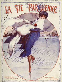 Illustration by Leo Fontan For La Vie Parisienne January 1920