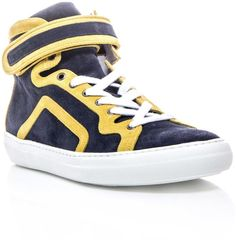 Pierre Hardy Suede high-tops http://www.stylepilot.com/product/pierre_hardy-pierre_hardy_suede_high_top_trainers-463852