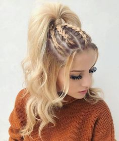 Coiffure tresse pour cheveux longs - hair styles for short hair - Hair Styles Natural Hair Styles, Short Hair Styles, Girls Long Hair Styles, Hair Styles Teens, Hair Styles Summer, Hip Hop Hair Styles, Should Length Hair Styles, Hair Braiding Styles, Long Hair Ponytail Styles