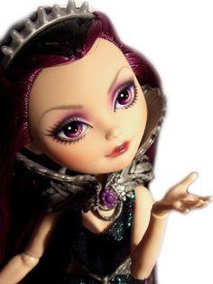 ☠ OOAK custom Ever After High doll repaint Raven Queen monster goth bjd Disney ☠ #EverAfterHigh