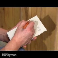 If you have a small drywall job to do, there is no need to buy or rent a rotary tool to cut around electrical boxes. Drywall Tape, Drywall Ceiling, Drywall Repair, Plaster Repair, Drywall Mud, Skim Coating, Sanding Tips, Hanging Drywall, Drywall Finishing