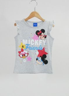 Mother & Kids Boys' Clothing Disney Mickey Minnie Baby Girl Clothes Korean Short Sleeved Tops Overalls Dresses Children Clothing Set Kids Bebes Jogging Suits Buy Now