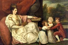 Charlotte Grenville and her children by Joshua Reynolds