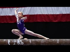 11 Year Old Gymnast Level 10 | Mya - YouTube