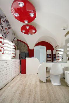 Ottica ROSSIGNOLI, Bergamo (BG)  project ARKETIPO DESIGN Milano (Italy) www.arketipodesign.it