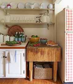 Country Details Provide A Warm Contrast To Stainless Steel Appliances