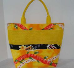 Mesh Tote Bag or Purse with Colorful Hawaiian by JakiraFarms, $18.00