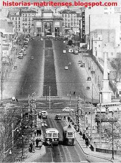 Tranvías en Puente Toledo MADRID