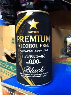 サッポロのアルコールフリー飲料 プレミアムアルコールフリー ブラック