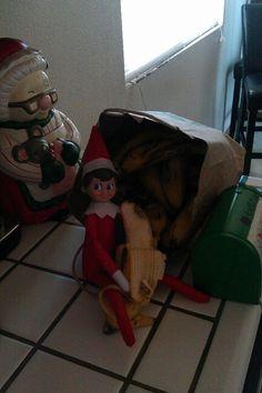 Super Elf is going bananas!