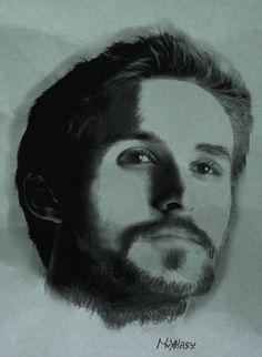 Ryan Gosling by mrxtasy.deviantart.com on @deviantART