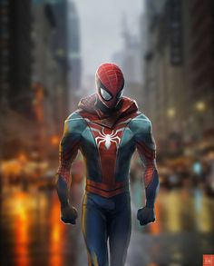 Homem-Aranha Peter Parker& alter-ego Spider-Man is a fictional character, a superhero who appears in American comic books published by Marvel Com. Comics Spiderman, Spiderman Kunst, Spiderman Spider, Amazing Spiderman, Spiderman Classic, Hulk Avengers, Marvel Comics Art, Marvel Comic Universe, Marvel Vs