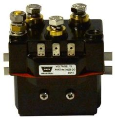 WARN 34440 Industrial Hoist Contactor by Warn. Save 28 Off!. $146.18. The WARN Industrial Hoist Contactor is a service part featuring 12 volt, permanent magnet, standard bracket. Fits WARN industrial hoists: DC 16,000: large frame, DC 2,000: mid frame and large frame, DC 2,500: large frame. This is the contactor only.