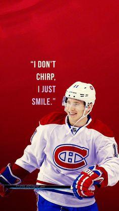 Brendan Gallagher is an athlete inspiring Nhl Hockey Teams, Hockey Mom, Ice Hockey, Montreal Canadiens, Montreal Hockey, Alaska Aces, Quotes Girlfriend, Hockey Bedroom, Hockey Quotes