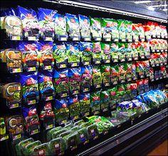 Fresh Express Bagged Salad Tray Fixtures