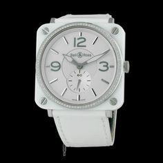 BELL & ROSS - BR-S White Ceramic Diamonds, cresus montres de luxe d'occasion, http://www.cresus.fr/montres/montre-occasion-bell_et_ross-br_s_white_ceramic_diamonds,r2,p9335.html