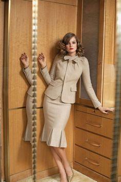Skirt suits, uniforms, amazing dresses... | Le Tailleur ...