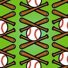Baseball Pattern Sports Wall Decals, Removable Wall Decals, Pattern Art, Find Art, Framed Artwork, Giclee Print, Entertaining, Baseball, Art Prints