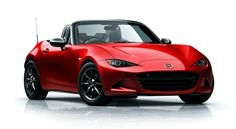 2017 Mazda Miata MX-5 red color pictures