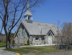 Mackinac Island - The Stone Church by Ski Michigan, via Flickr