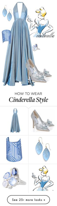 """""""cinderella"""" by kelceyisacat on Polyvore featuring Rosie Assoulin, Posh Girl, Alexis Bittar, Pierre Hardy and Judith Ripka"""