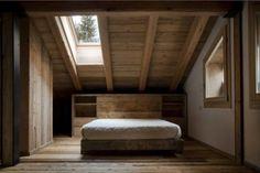 alpine barn contemporary bedroom design