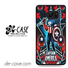 Marvel Pinball Captain America DEAL-6956 Samsung Phonecase Cover For Samsung Galaxy Note 7