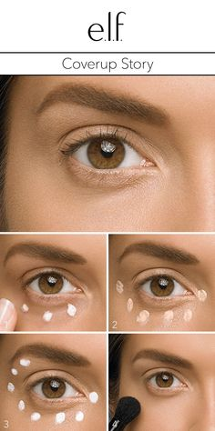 Look wide awake and refreshed with this easy under-eye tutorial. #elfosmetics