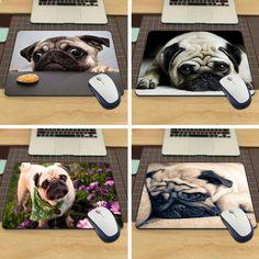 FREE + SHIPPING/Cute Pug Dog Mouse Pad/ 4 STYLES #miniaturepinscherlovers