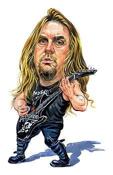 Jeff Hanneman by Art