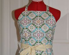 INSTANT DOWNLOAD Apron sewing pattern sale, Chatty Chef Apron Pattern, sewing pattern, apron, Women's sewing pattern, easy apron pattern