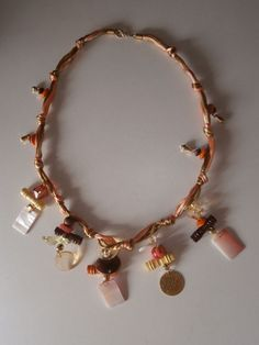 1 Halskette aus Indien Kette Schmuck Modeschmuck Nr.3 neu Bollywood