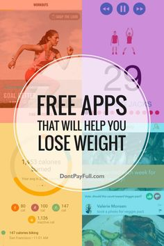 loss fat, weight loss drinks, weight loss after pregnancy - Trying to lose weight but don't want to join the gym? Here are 10 Free Apps That Will Help You Lose Weight! #DontPayFull